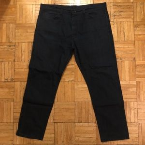 Levi's dark wash stretchy jeans 38x30